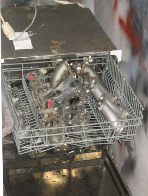Alumiinin pesu astianpesukoneessa